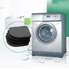 Washing Machine Anti-Vibration Pad Mat Non-Slip Shock Pads Mats Refrigerator 4PC