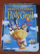 New listing Dvd Monty Python And The Holy Grail Collector'S Edition Special Tin Set *