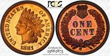 1881 Indian Head Cent | PCGS PR66 Red Brown | Proof (MOA25662875)