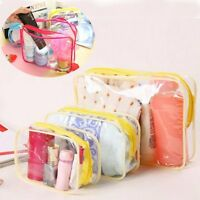 Womens Zip Makeup Case Pouch Toiletry Wash Organizer Travel Cosmetic Storage Bag