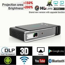 Portable 8500 Lumens Android 3D DLP 4K HD 1080P Projector Wifi 4K Cinema HDMI SD