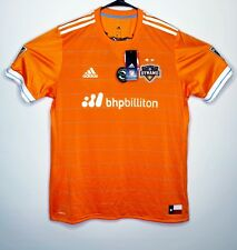 Adidas Houston Dynamo MLS Forever Orange Soccer Jersey With Texas Flag XL NWT