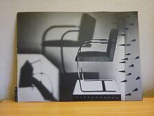 Brno Chair 1930 * Mies van der Rohe *  repro photo 25 x 34 papier fort catalogue