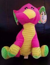 """Kellytoy/Kuddle Me Toys Animal Pals Pink/Multi Color Elephant stuffed/plush-12"""""""
