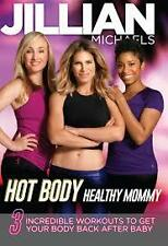 Cardio & toning DVD - JILLIAN MICHAELS Hot Body Healthy Mommy - 3 Workouts!