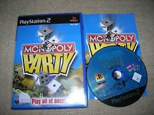 MONOPOLY PARTY - Rare Sony PS2 Game