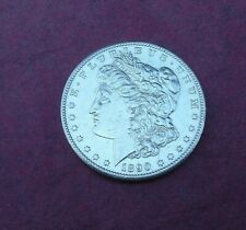 More details for usa 1890-s morgan silver (.900) dollar.  good very fine + capsule
