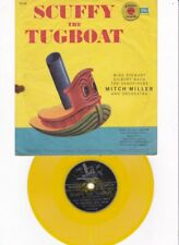 Vtg. Scuffy The Tugboat & Popeye The Sailor Man Golden Record 1957 # R346