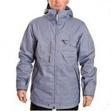 BURTON Men's FREEMONT Snow Jacket - Galvanized Grey - Small - NWT