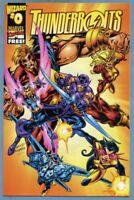 Thunderbolts #0 1997 Marvel [Wizard] Busiek Bagley -m