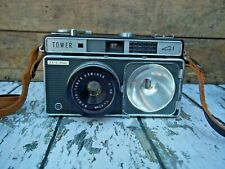 Vintage Sears Tower Camera, Model 41, 35mm, with Flash Door Cover and Case