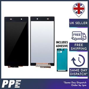 LCD Screen For Sony Xperia Z1 Black Replacement Assembly Digitiser and LCD