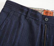NWT Authentic MISSONI ORANGE LABEL WOOL Jacquard Flat Front Pants IT-48 US-32