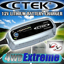 CTEK LITHIUM XS BATTERY SMART CHARGER 12V VOLT 5A AMP LIFEPO LI ION 8 STAGE AUTO