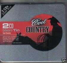COOL COUNTRY - 2 CD COLLECTORS TIN -  NEW -