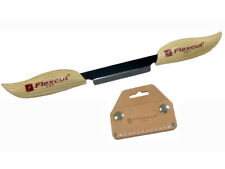 "3""  KN25 Draw Knife with Sheath by Flexcut Tool - Brand New"