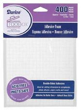 Darice Crafter's Toolbox Adhesive Foam Squares 400 pcs. 3/16