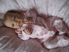 Stunning Newborn Baby Reborn Doll, Choose boy or Girl-Ghsp,Weighted,Painted hair