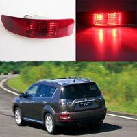 Left Passenger Side Tail Rear Bumper Fog Light For Mitsubishi Outlander 2006-12