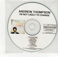 (GO137) Andrew Thompson, I'm Not Likely To Change - DJ CD