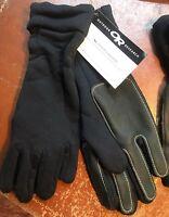 Outdoor Research Rucker Gloves Fleece Leather Nomex polartec SEAL US Black XL