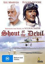 Lee Marvin Roger Moore SHOUT AT THE DEVIL - WAR ACTION THRILLER DVD