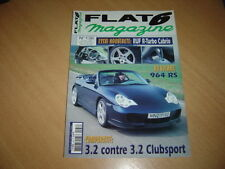FLat 6 N° 136 Ruf R-Turbo Cab.964 RS 3.3.911 3.2 CS
