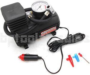 Mini Portable Air Compressor Electric Tire Inflator Pump 12 Volt Car 280PSI
