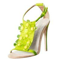 bcb358f58615 BURBERRY PRORSUM lemon floral sandals pumps w box Sz IT 39 US 9