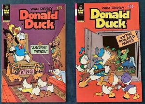 2 Issues Of Donald Duck #228 & 229  Reprints Ancient Persia & Pixilated Parrot