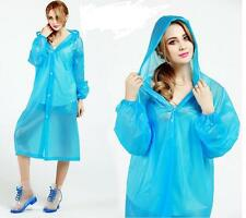 Nice!! Disposable Large Outdoor Anti-Rain Plastic Raincoat for Camping Hiking