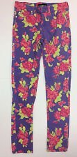 Item 396 Celebrity Pink Girls Floral Print Jeans Size 12