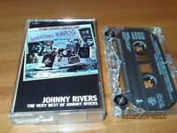 The Very Best of Johnny Rivers by Johnny Rivers (Cassette, Aug-1988, EMI)