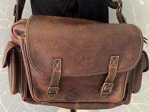 La Martina Polo Ranch Large Leather Business/weekend Bag Vtg