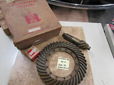 NOS 1936-49 International Harvester Ring and Pinion Set 4.44 Ratio - K4, K5, K6