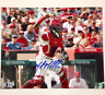 MARTIN MALDONADO Autograph ANGELS Signed 8x10 Photo B w/ Beckett Witness BAS COA