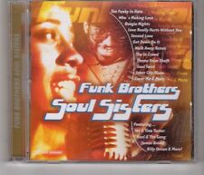 (HH894) Funk Brothers Soul Sisters, 18 tracks various artists - CD