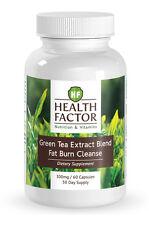 HF Health Factor Green Tea Extract Blend, Fat Burn & Cleanse (1 Bottle)