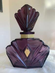 "Gorgeous Elizabeth Taylor Passion Factice Dummy Perfume Bottle Display  12"" Tall"