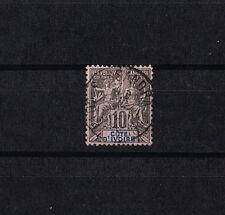Cote d'Ivoire   10c   noir sur lilas    num: 5  obl
