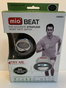 MiO Beat ECG accurate Strapless Heart Rate Wrist WATCH Monitor Unisex