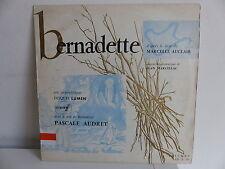 Bernadette Lourdes Livre MARCELLE AUCLAIR JEAN MARCILLAC PASCALE AUDRET LD3 235