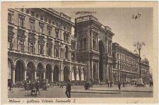 MILANO - GALLERIA VITTORIO EMANUELE 2 1942