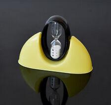 50s Vintage Design Eieruhr Sanduhr 60s Kunststoff Glas Küche Eames Era Uhr