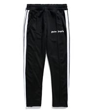 PALM ANGELS Side Striped Webbing Sport Trousers Women Leisure Sport Pants Unisex