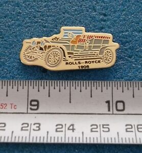 ROLLS-ROYCE 1906 OR 1908  ANTIQUE CAR AUTO AUTOMOBILE PIN # S229
