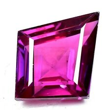 AAA+ 21.70 Ct Natural Pink Pyrope Garnet AGSL Certified STUNNING Fancy Gemstone