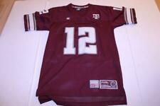 Youth Texas A&M Aggies #12 L (16/18) Embroidered Football Jersey
