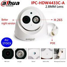 Dahua 4MP IPC-HDW4433C-A Built-in MIC HD IR PoE Home CCTV Security IPCamera Dome