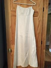 William Cahill Vintage Ivory  Wedding Dress Gown Fabulous Simple